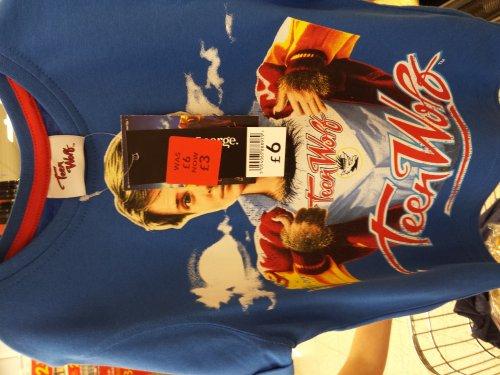 Teen Wolf kids T-shirt - £3 @ Asda