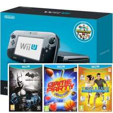 Wii U Premium and 4 Games £189.95 @ the game collection