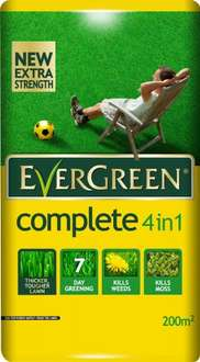 EverGreen 200sqm Complete 4-in-1 Lawn Care £8.40 @ amazon (FREE Delivery on orders over £10)