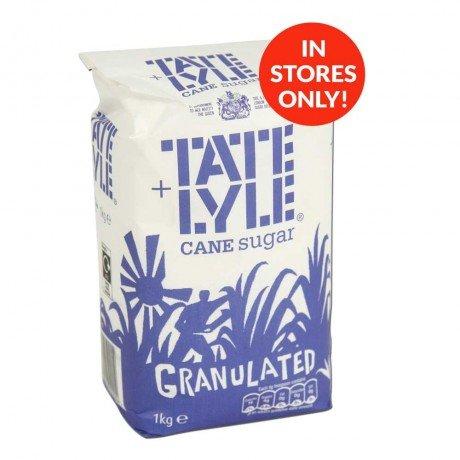 Tate & Lyle Sugar (1Kg) ONLY 69p @ Poundstretcher