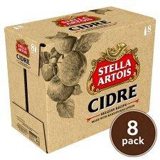 Stella Cidre £6.65 for 8 bottles @ Asda