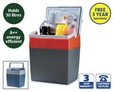 30L Electric Coolbox 3 yrs warranty from 26th £39.99 @ Aldi