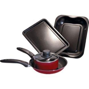 argos Kitchen Essentials 4 Piece Cooking Set.   £5.99