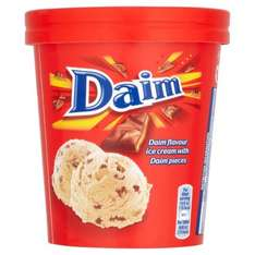 Daim Ice Cream Tub 480ml £2.00 @ Ocado