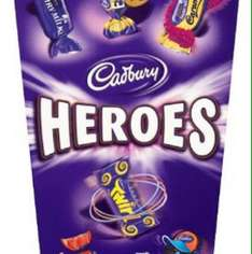 Cadburys heroes 3boxes  £4.46, exp 30 june @ Amazon (add on item)