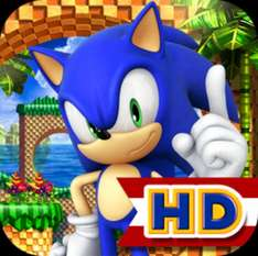 Sonic The Hedgehog games for iOS all reduced to 69p in the Apple App Store & 70p in the Play Store for Android