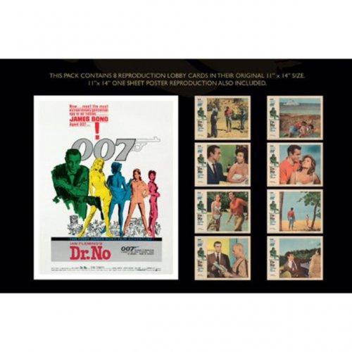 James Bond Dr No Lobby Card Set £5.99 @  theworks Ebay