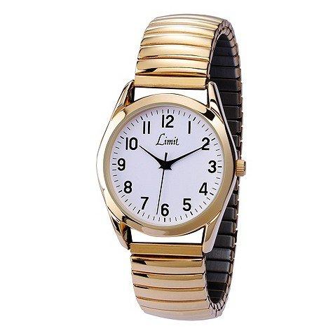 Limit Ladies' Gold Expanding Strap Watch £2.99 at H Samuel Save £12.00