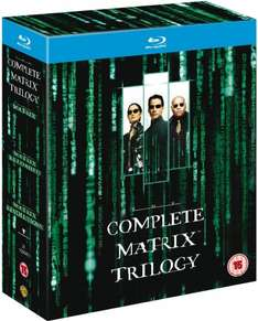 The Complete Matrix Trilogy Blu-ray £9.00 @ Amazon (free delivery £10 spend/prime/locker)