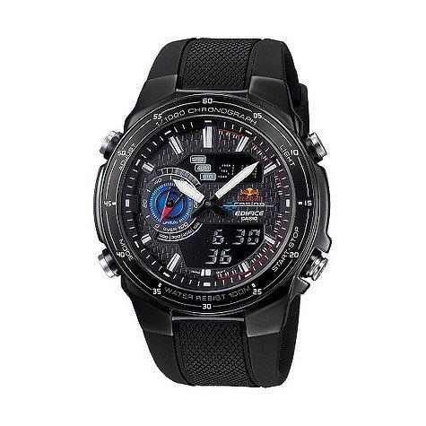 Casio Edifice Red Bull Racing Men's Black Strap Watch £73.99 @ H.Samuel