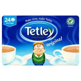 Tetley Tea Bags 240pk £3.00 @ Asda