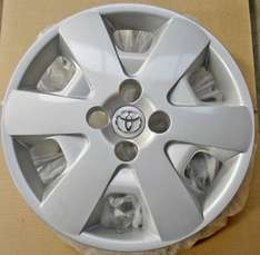 "Genuine TOYOTA 15"" Wheel Trim x 4 (Set) £34.00 @  eBay/ merlin_international"
