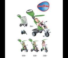 Smart-Trike 4-in-1 Recliner Tricycle Tesco £60 (new customers) or £70 at Tesco