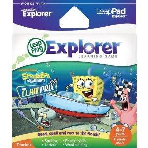LeapFrog LeapPad/Leapster Explorer Game - SpongeBob SquarePants Kart Racing (free collect in store) @ Mothercare/ELC