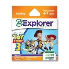 LeapFrog LeapPad/Leapster Explorer Game - Toy Story 3 (free to collect instore or £2.95 delivery) @ Mothercare