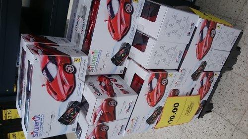 Silverlit Ferrari Bluetooth Car £10 @ Tesco Bar Hill In Store, possibly nationally