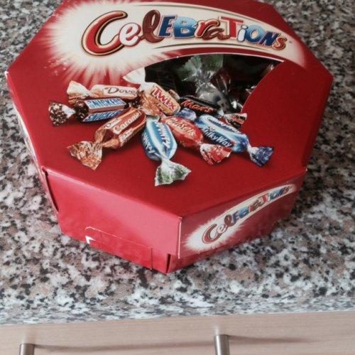 200g of celebrations chocolates  £1 iceland