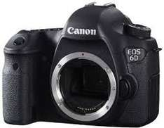 Canon 6D (body only) for £749 AFTER John Lewis price match & £150 summer cashback from Canon (£1379 upfront)