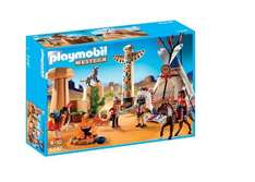 Playmobil 5247 Native American Camp with Totem Pole £14.46 at Amazon