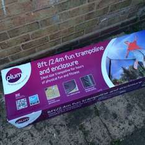 8ft trampoline - £55.30!!! Bargain @ Tesco (instore)