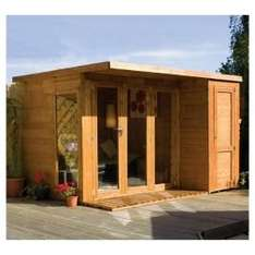 Mercia 10x8 Large Combi Summerhouse was £950.00 now £665.00 + delivery at Tesco Direct