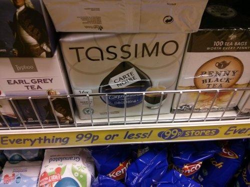 Tassimo Carte Noire Expresso 16x60ml £0.99 in 99p store