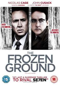 The Frozen Ground Blu Ray £4.50 @ Amazon UK (free delivery £10 spend/locker/Prime)