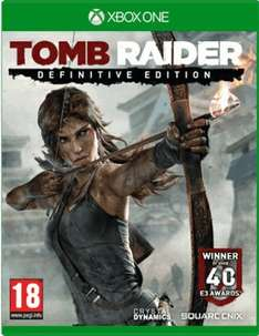 Tomb Raider definitive edition xbox one preowned from GAME - £22.99