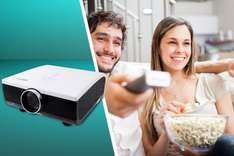 hd projector from wowcher for £209.98 delivered @ Wowcher