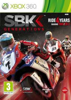 SBK Generations (Xbox 360) New, Delivered @ Base - £3.99