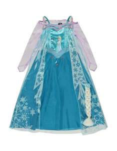 Disney Frozen Elsa Costume Dress £12.50 +£2.95 delivery @ George at Asda (Back in Stock)