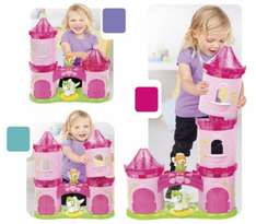 Megablocks  First Builders Lil' Princess 3-Story Enchanted Castle @ Asda Direct £7.43 reduced from £29.72