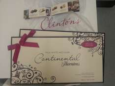 Thorntons 460g Box £1 at Clintons cards