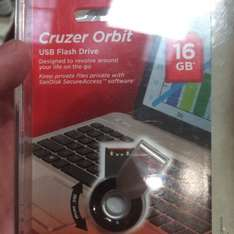 Sandisk Cruzer Orbit 16gb £4 Tesco