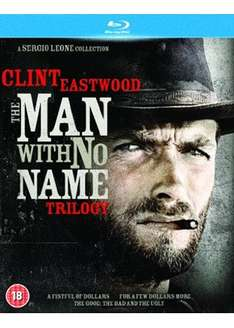 The Man With No Name Trilogy [Blu-ray]  £14.99 in store @ hmv