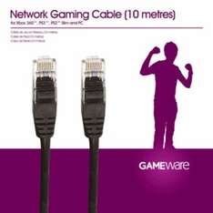 10m Ethernet Cable 50p @ Game (Instore)
