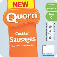 Quorn Mini Cocktail Sausages (180g) ONLY £1.40 @ Sainsbury's
