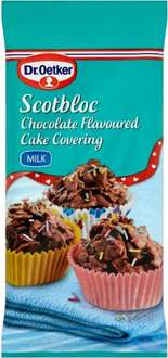 Dr. Oetker Scotbloc Milk Chocolate Cake Covering (300g) ONLY 60p again @ Sainsbury's