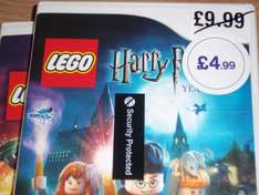 Lego Harry potter years 1-4 £4.99 (wii)  and the Lego movie: videogame £9.99 (3ds) in store at HMV Oxford street