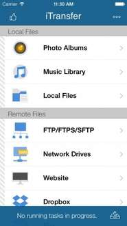 iTransfer Pro - File Upload / File Download Tool was £3.99 now FREE @ Apple App Store