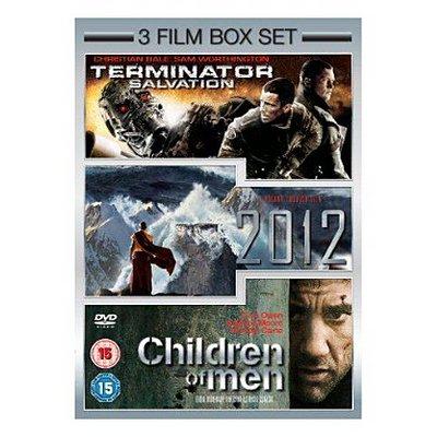 (DVD) 2012/Terminator Salvation/Children Of Men Box Set - £3.00 - Asda Direct