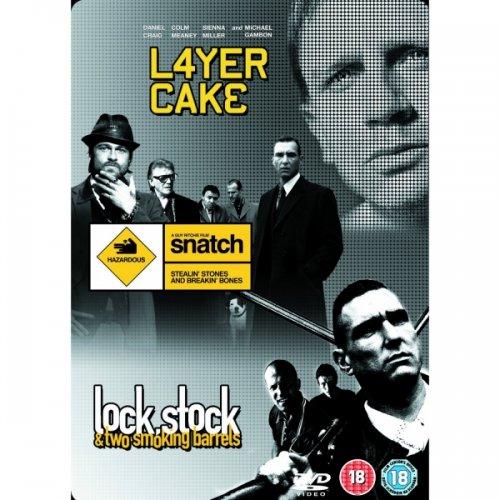 Layer Cake, Snatch, Lock Stock & Two Smoking Barrels DVD £8.99 @ 365 Games