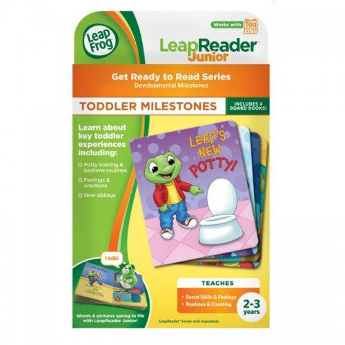 LeapFrog LeapReader Junior Toddler Milestones Book Set for £3.74 @ direct.asda.com
