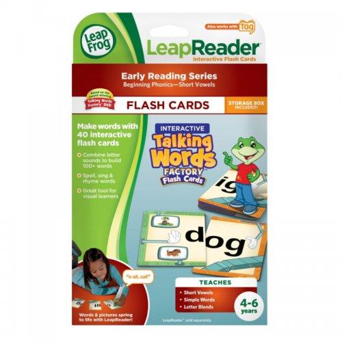 LeapFrog LeapReader Flash Cards - Interactive Talking Words Factory for £3.74 @ direct.asda.com