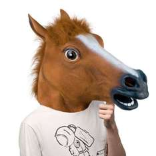 Horse Head Mask - just £7.99 delivered at ebay / GADGETcKING
