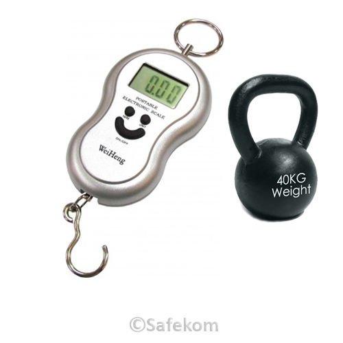 40 KG Portable Digital Luggage Scales - Ebay £2.80 delivered SafeKom