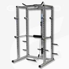 GYMANO Power Rack with Lat Pull £199 @ BritishFitness/Ebay