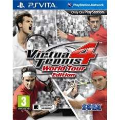 Virtua Tennis 4 (PS Vita) £3.99 With Code @ 365 Games