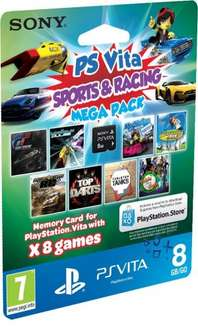 PS Vita 8 Game pack £5.99 (code emailed) 365games