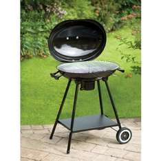 Oval Kettle BBQ only £19.99 at b and m stores!